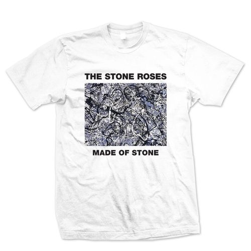 The Stone Roses: Made of Stone White T-Shirt
