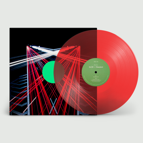 GLOK: Dissident: Signed Limited Transparent Red Vinyl