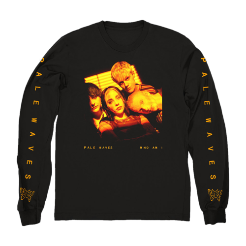 Pale Waves: 'Who Am I?' Longsleeve + Black Cassette