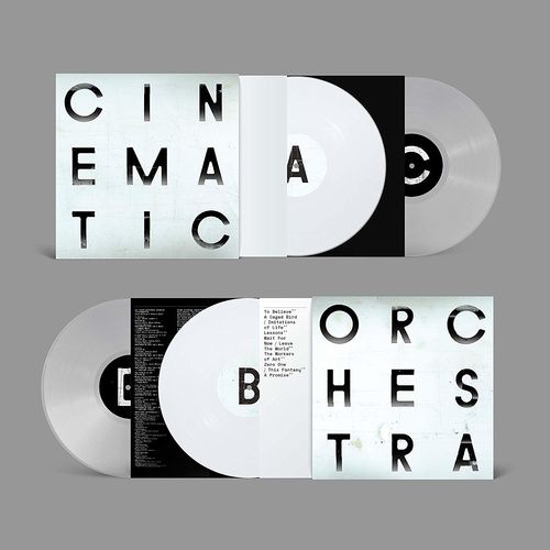 The Cinematic Orchestra: To Believe: Limited Edition Clear & White Double Vinyl