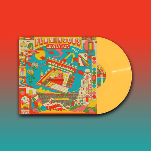 Flamingods: Levitation: Signed Limited Edition Yellow Vinyl