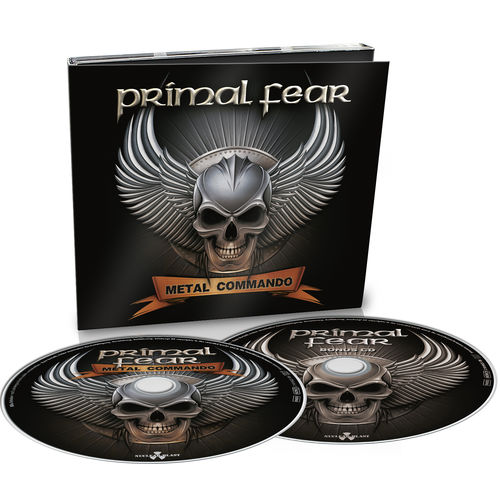 Primal Fear: Metal Commando: Limited 2CD Digipack + Signed Photocard