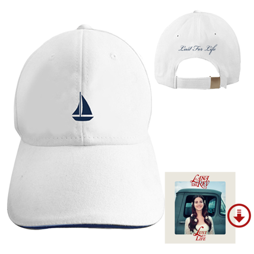 Lana Del Rey: Lust For Life - Boat Cap + Digital Album