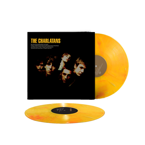 The Charlatans: The Charlatans: Limited Edition Marbled Yellow Vinyl 2LP
