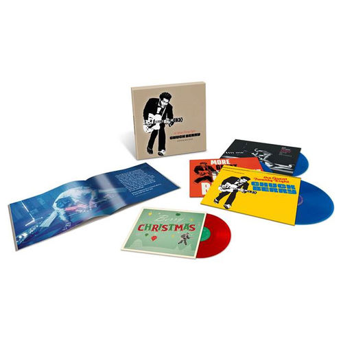 Chuck Berry: The Great Twenty-Eight: Super Deluxe Edition 'Chess Blue' Vinyl