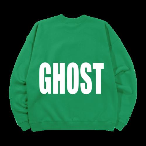 justin bieber: Ghost Lyrics Crewneck II