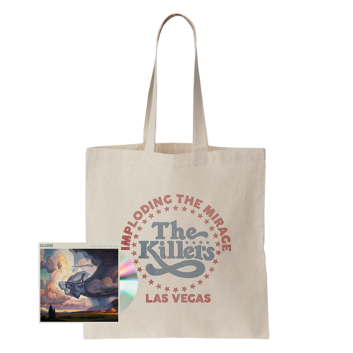 The Killers: ITM STAR LOGO TOTE BAG + CD