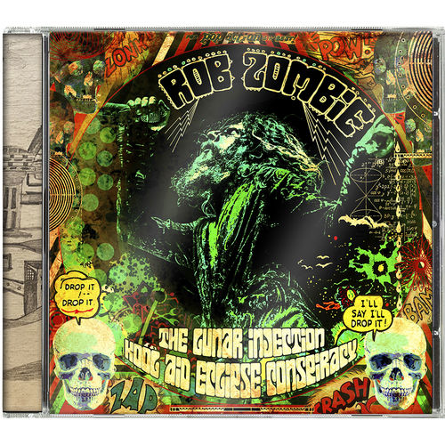 Rob Zombie: The Lunar Injection Kool Aid Eclipse Conspiracy CD