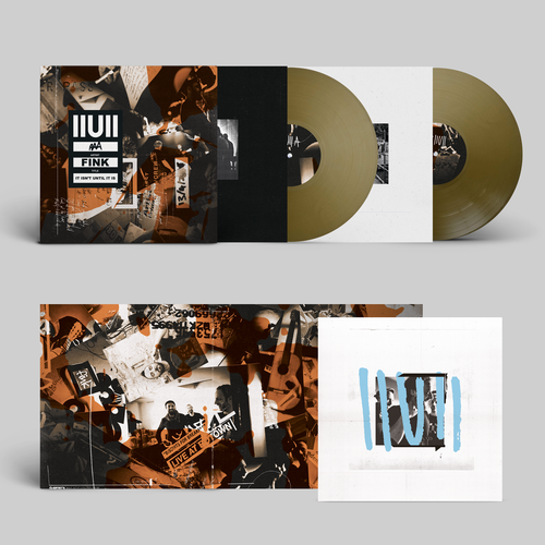 Fink: IIUII: Signed Exclusive Solid Bronze Vinyl 2LP