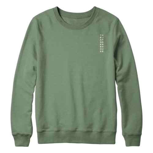 The Japanese House: Green Longsleeve Sweater