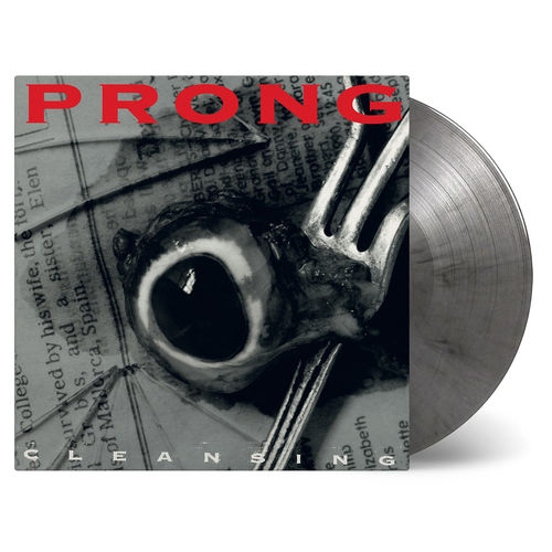 Prong: Cleansing: Silver & Black Marbled Vinyl