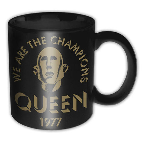 Queen: We Are The Champions Mug