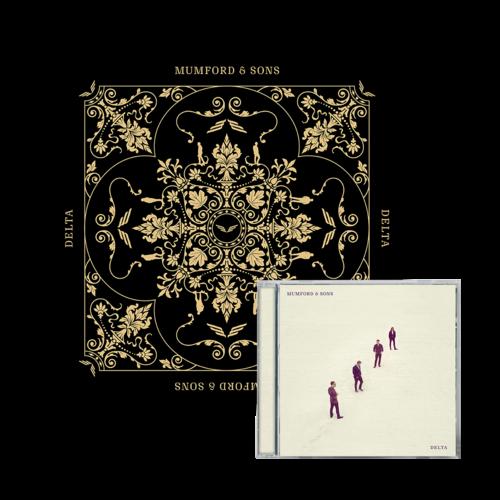 Mumford & Sons : Delta CD & Screenprint Bundle