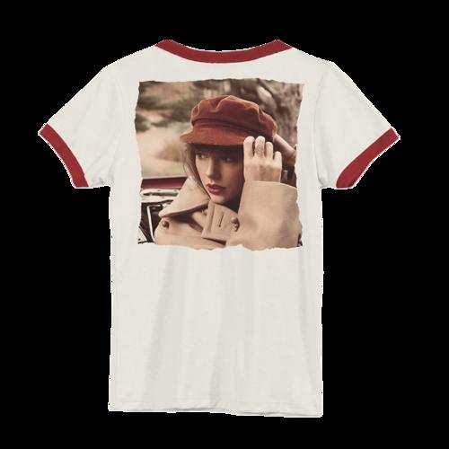 Taylor Swift: Album Cover Ringer T-Shirt