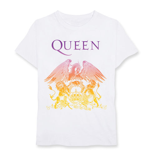 Queen: Gradient Crest White