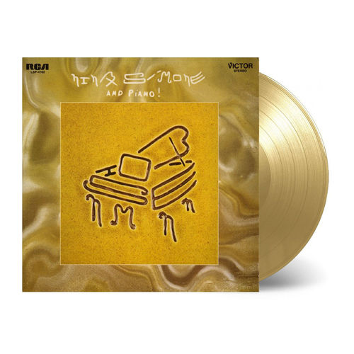 Nina Simone: And Piano!: Limited Edition Solid Gold Vinyl