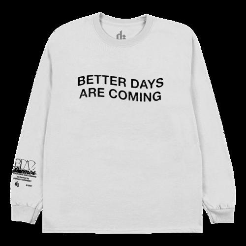Dermot Kennedy: Better Days White Long Sleeve