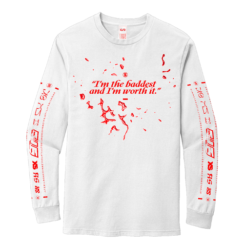 Rina Sawayama: 'XS' long Sleeve T-shirt