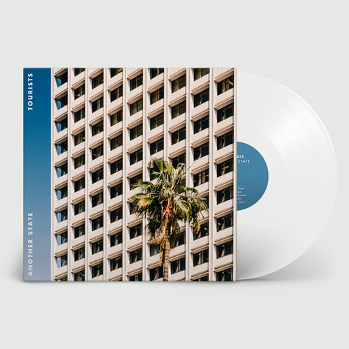 Tourists: Another State: Signed White Vinyl
