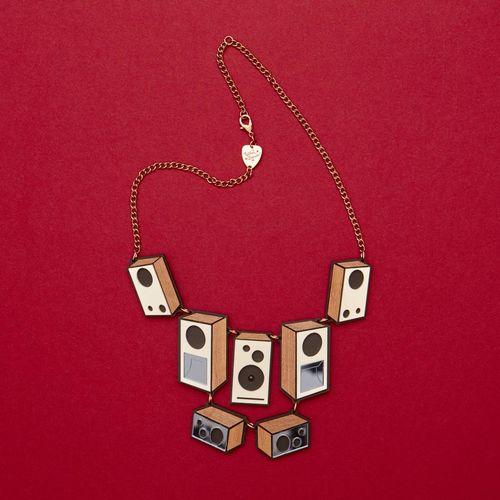 Abbey Road Studios: Tatty Devine Speaker Stack Necklace