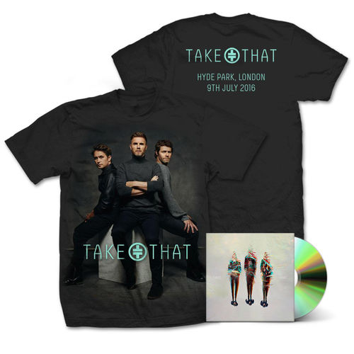 takethat: Album + Seated T-Shirt Bundle
