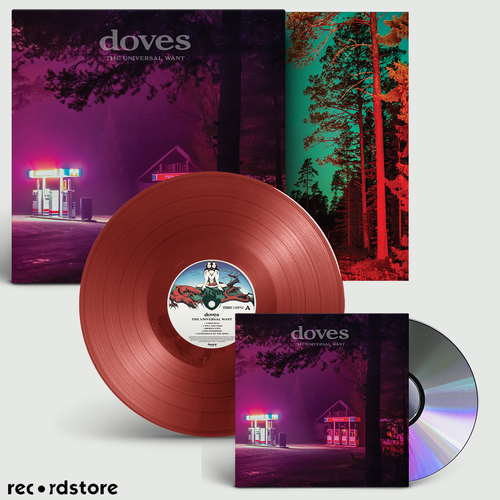 Doves: The Universal Want: Signed Exclusive Deep Red Vinyl + CD