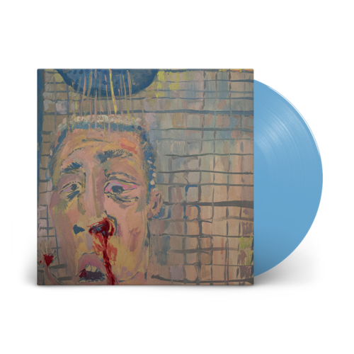 Peeping Drexels: Bad Time: Signed Exclusive Baby Blue 12