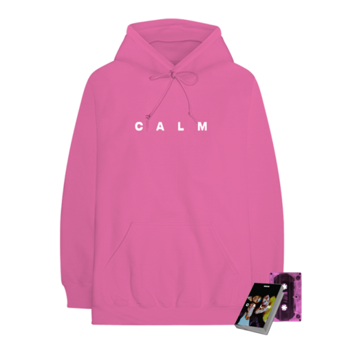 5 Seconds of Summer: CALM PINK CASSETTE + CALM PINK HOODIE