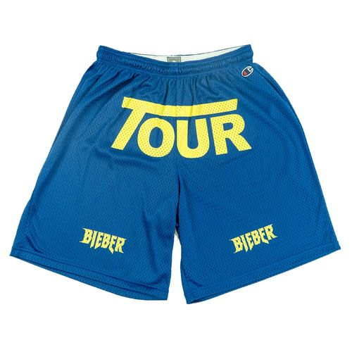 Justin Bieber: Tour Blue Shorts