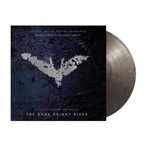 Original Soundtrack: The Dark Knight Rises: Limited Edition Marbled Black & Silver Vinyl