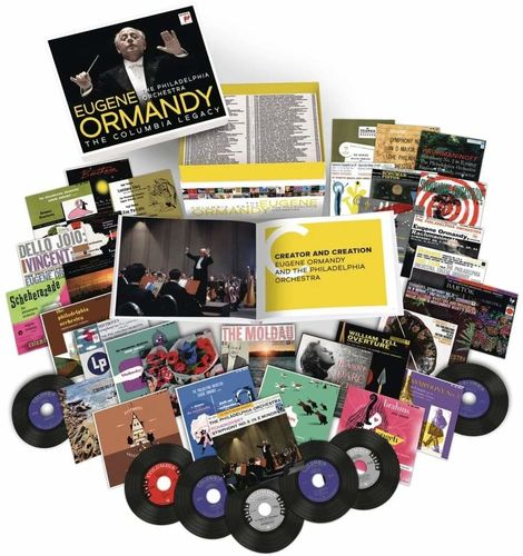 Eugene Ormandy: The Columbia Legacy: Limited Edition 120 CD Box Set