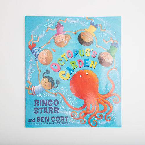 Abbey Road Studios: Ringo Starr Octopus's Garden Picture Book