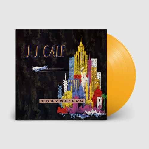 J.J. Cale: Travel-Log: Limited Edition Mimosa Yellow Vinyl