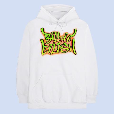 Billie Eilish: Billie Eilish Grafitti Hoodie