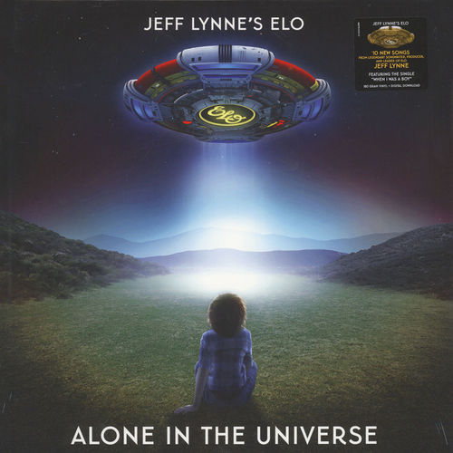 Jeff Lynne's ELO: Alone in the Universe: 180gm Vinyl LP