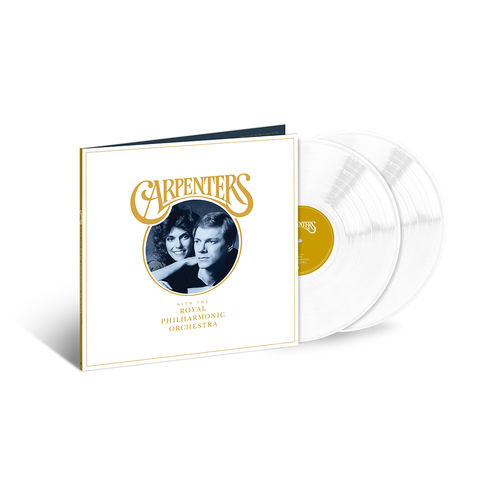 The Carpenters: Carpenters With The Royal Philharmonic Orchestra: Exclusive White Coloured Vinyl