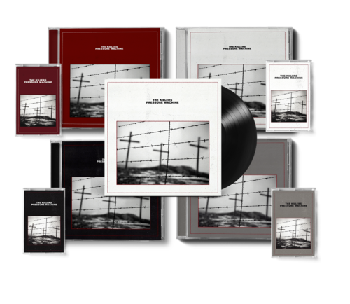 The Killers: PRESSURE MACHINE ALL FORMAT ULTIMATE BUNDLE WITH SIGNED ART CARD