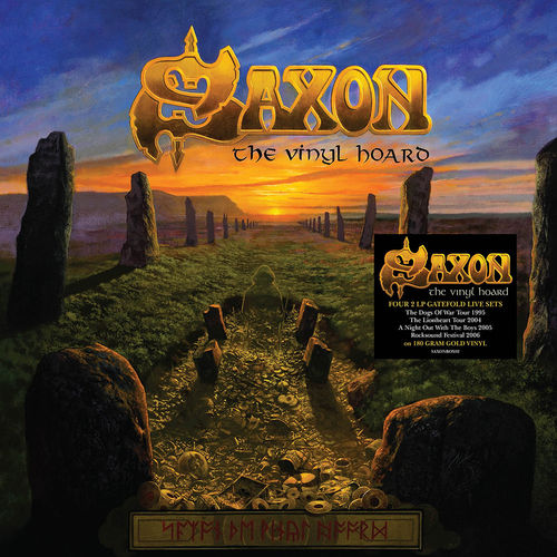 Saxon: The Vinyl Hoard