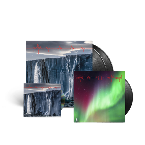 "Pearl Jam : Gigaton LP and CD and ""Dance Of The Clairvoyants"" exclusive 7"" single combination"