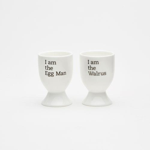 Abbey Road Studios: I Am The Eggman I Am The Walrus Egg Cups