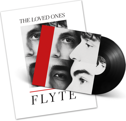 Flyte: Signed LP + Lithograph