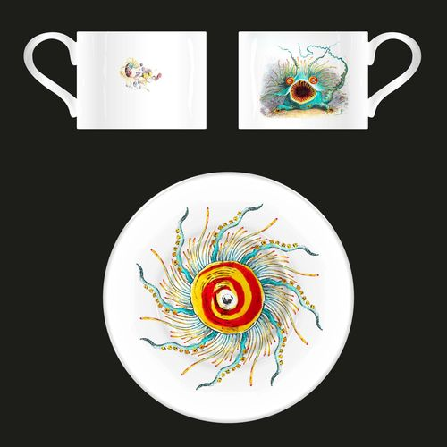 Queen: Queen Archive Edition: Innuendo Bone China Tea Cups & Saucers