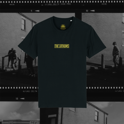 The Lathums: The Lathums x Wigan Athletic: The Great Escape Black Tee