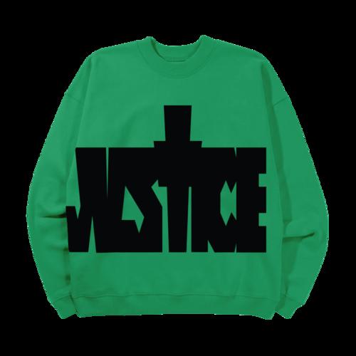 justin bieber: Justice Crewneck I