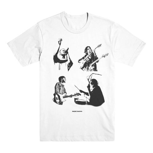 Imagine Dragons: Faces Tee Medium