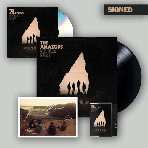 The Amazons: CD, Deluxe Vinyl, Cassette & Signed Postcard