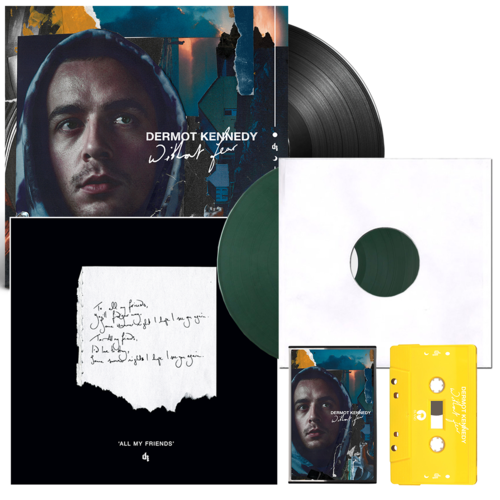 Dermot Kennedy: Without Fear: Exclusive Vinyl, Cassette + All My Friends Signed + Numbered Lithograph