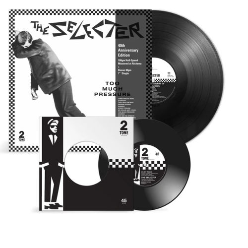 The Selecter: Too Much Pressure - 40th Anniversary: Limited Edition LP + 7