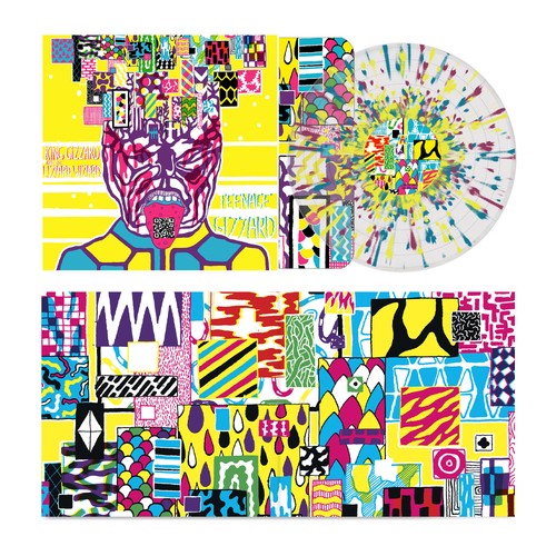 King Gizzard & The Lizard Wizard: Teenage Gizzard [Fuzz Club Official Bootleg]: 180gm Ultra-Clear, Yellow, Purple + Blue Splatter Vinyl LP [hand-numbered /500]