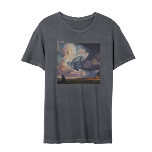 The Killers: Imploding the Mirage Cover Art T-Shirt (Grey)